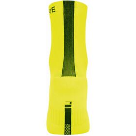 GORE WEAR M Calcetines Corte Medio, amarillo/negro